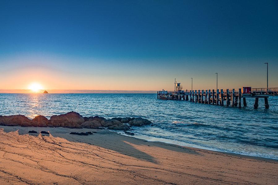 Sunrise at Palm Cove
