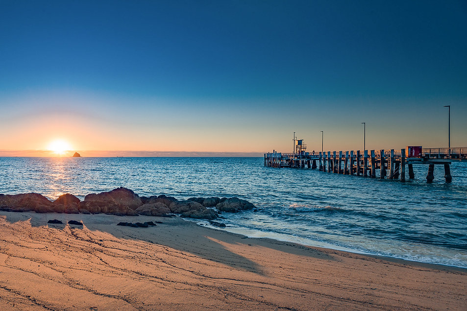 Sunrise at Palm Cove Jetty