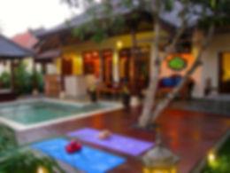 Villa balistar Outdoor entertainment area