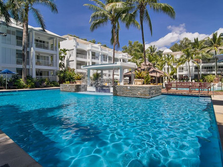 Peppers Beach Club Palm Cove Penthouse scores us a great review.
