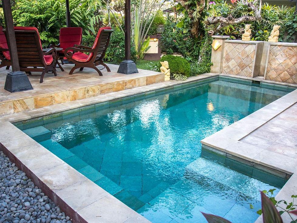 Villa Jastri Tiga pool