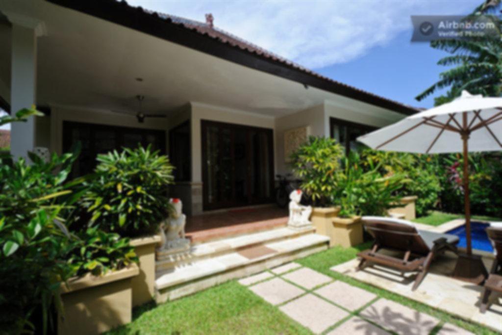 Zen Villa front entrance.
