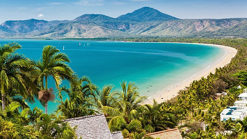 Port Douglas Lookout view.