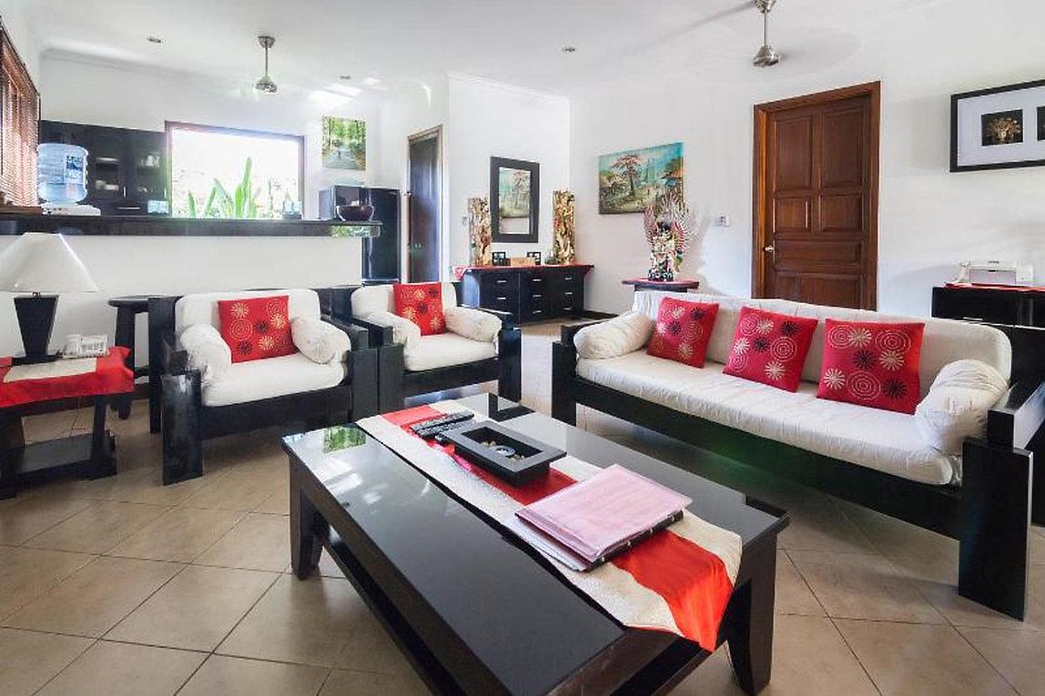 Zen Villa Bali Living area