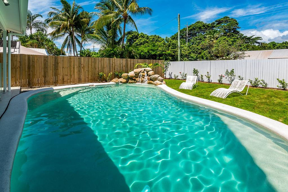 """Keep cool in """"Our home is your home"""" pool"""