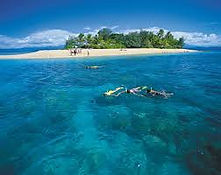 Snorkelling the outer Islands