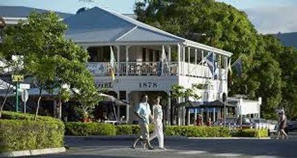 Historic building in Port Douglas