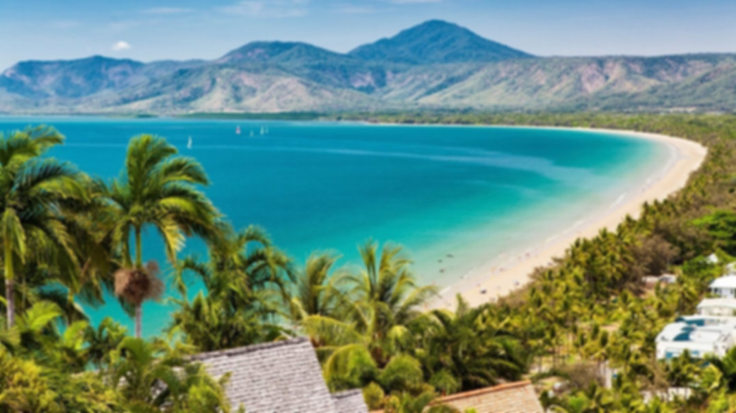 "Port Douglas from ""The Lookout""."