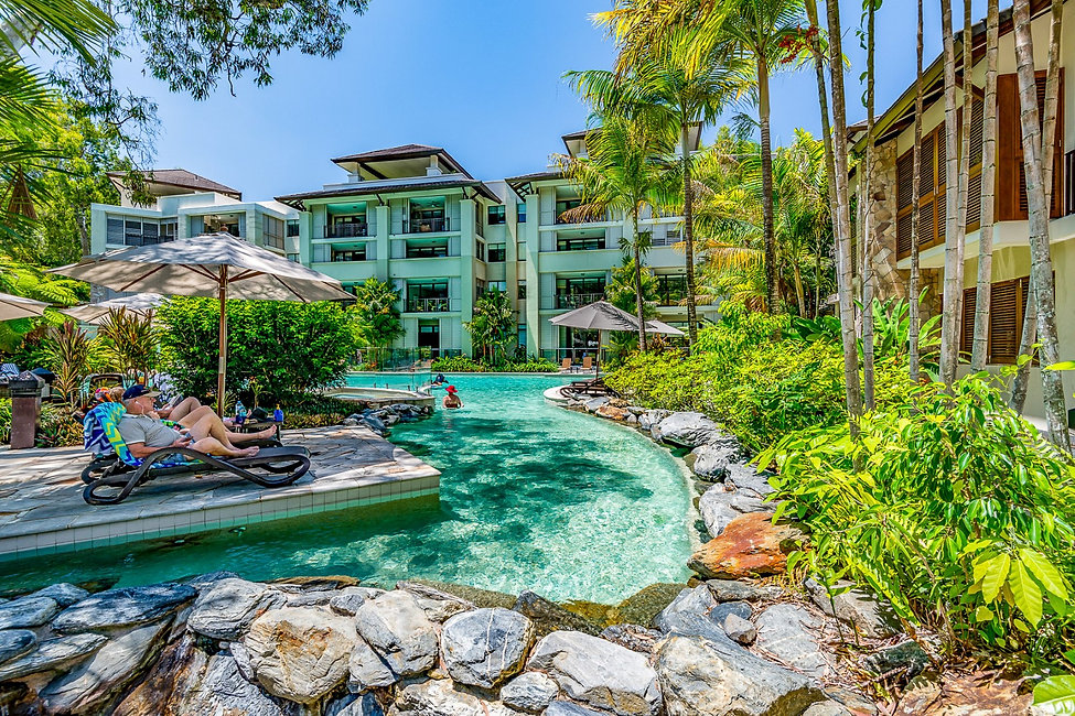 Sea Temple Palm Cove managed apartments