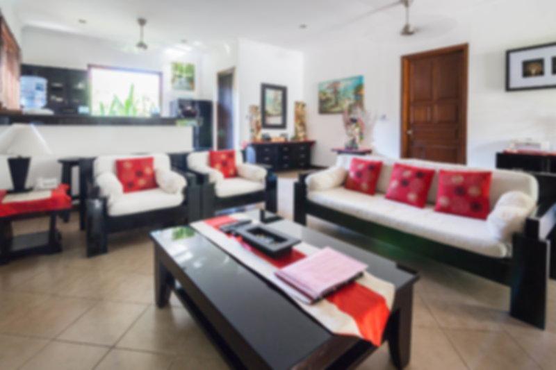 Zen Villa Living Area