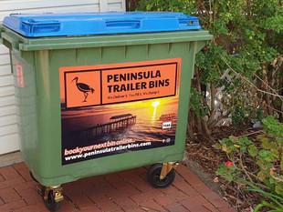 Peninsula Trailer Bins Wheelie Bin Hire