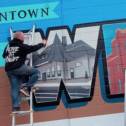 Downtown Whitby Mural