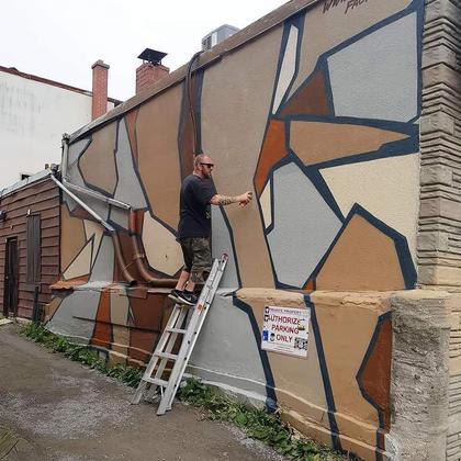 Downtown Oshawa Mural