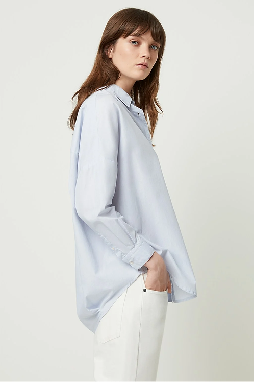 French Connection Lilla Dotted Stripe Shirt