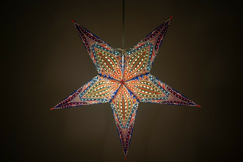 Bohemia Purplehaze Paper Star Light