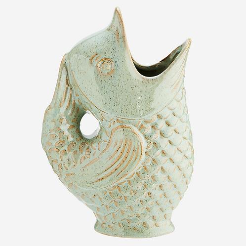 Stoneware Fish Vase