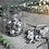 Thumbnail: Adisa Bauble Jar - Antique Silver - x16
