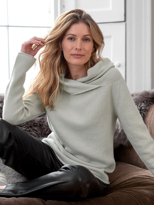 Collared Slouch Jumper