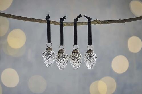 Harini Baubles - Antique Silver - x4