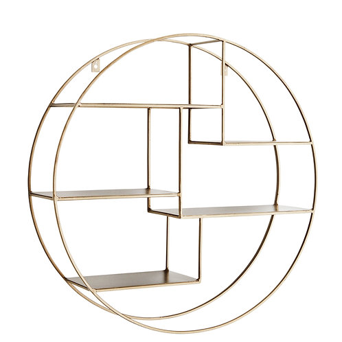 Round Iron Shelf