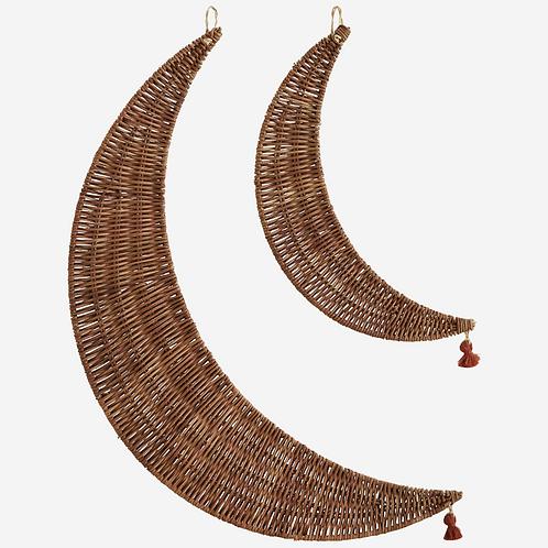Hanging Rattan Moons
