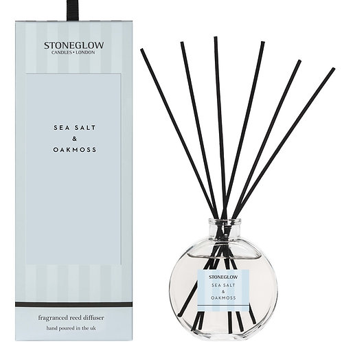 Stoneglow Sea Salt and Oakmoss Reed Diffuser