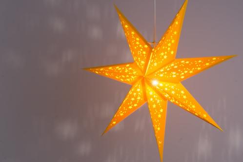 Venus Yellow Paper Star Light