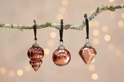 Ura Baubles-Set of 3