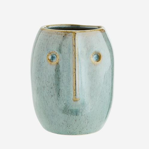 Little Blue Flower Pot