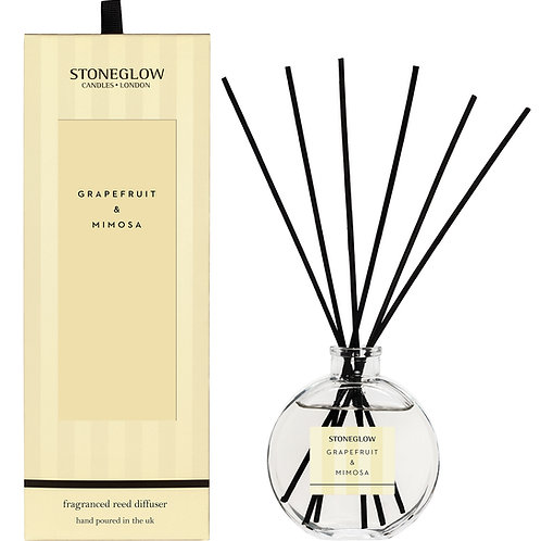 Stoneglow Grapefruit and Mimosa Reed Diffuser