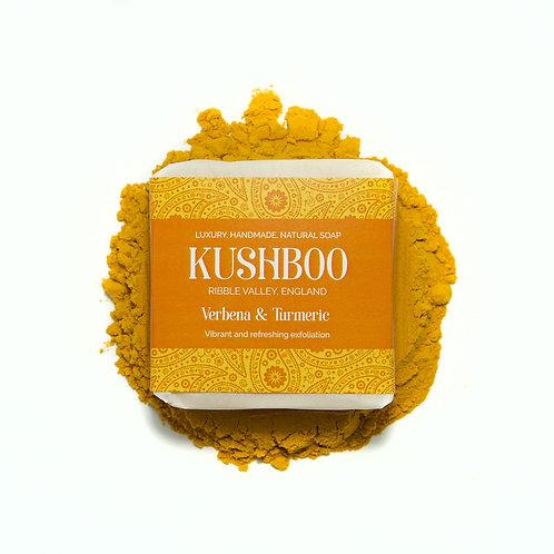 Verbena and Turmeric Kushboo Soap