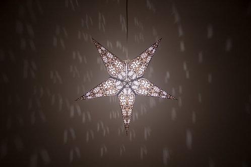 Firework Black and White Paper Star Light