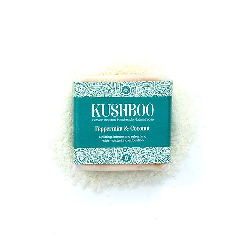 Peppermint and Coconut Kushboo Soap