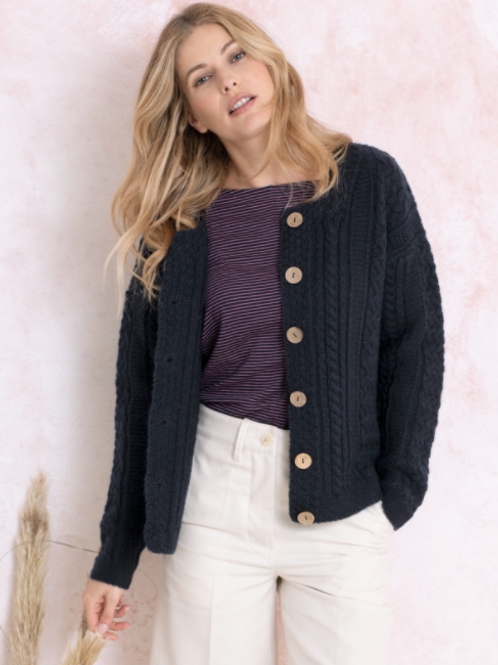 Celtic and Co Cable Cardi