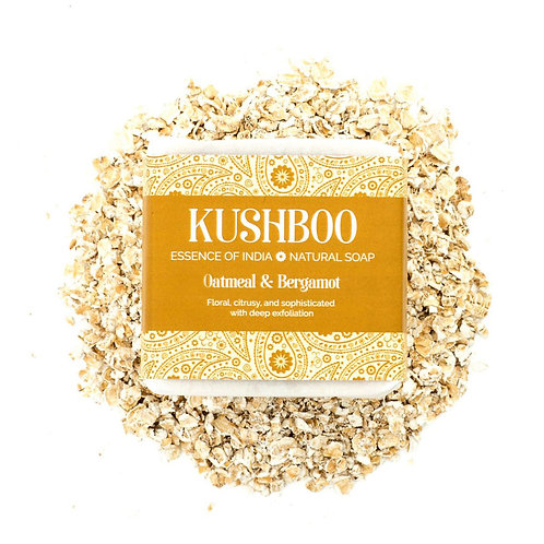 Bergamo and Oatmeal Kushboo Soap