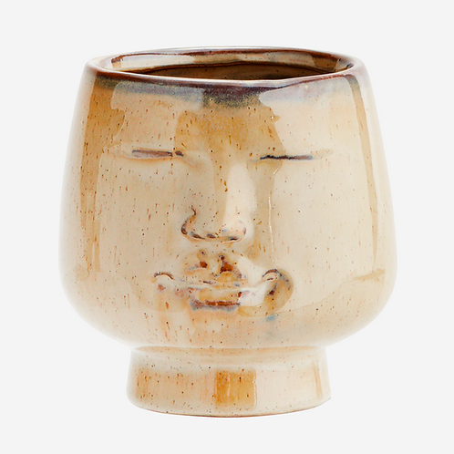 Serenity Flower Pot with Face Imprint