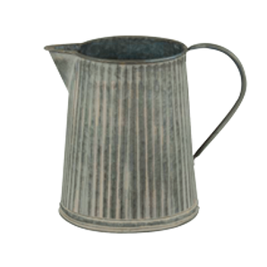 Chamberlain Regency Ribbed Jug