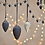 Thumbnail: Harini Bauble Garland -Antique Silver and Black