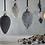 Thumbnail: Harini Baubles - Antique Silver - x4
