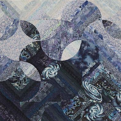 Blue Galaxy by Louisa L. Smith