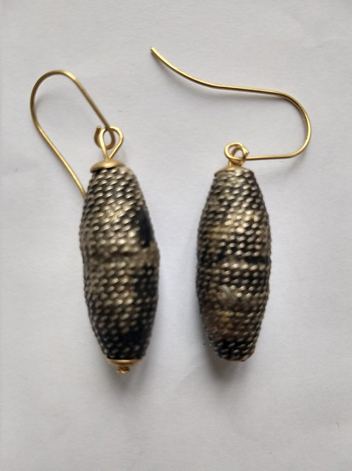 Metal Berber earrings from Morrocco