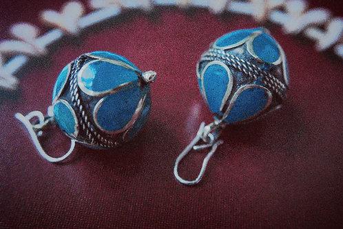 Blue enamel