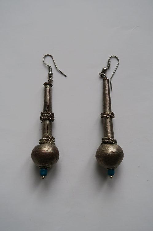 Long Ethiopian earrings