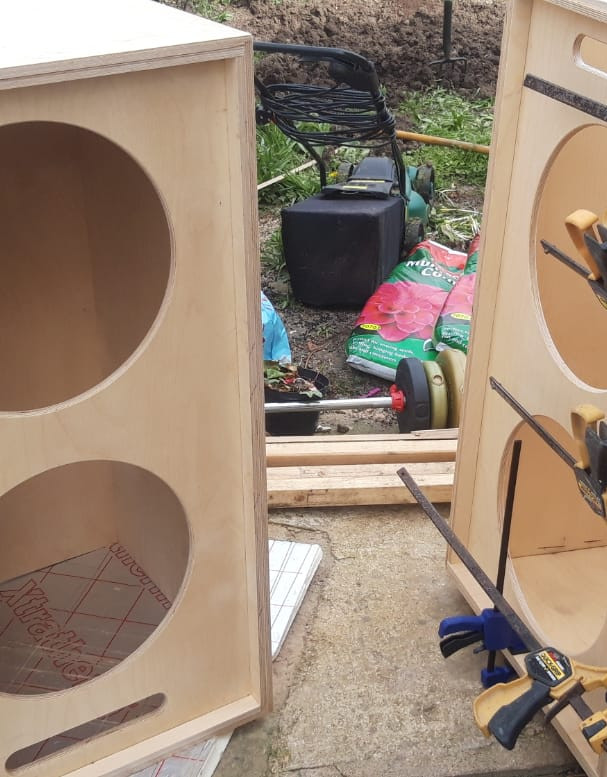 Building the Distant Drums Sound System