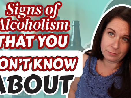 8 Unofficial Signs of Alcoholism