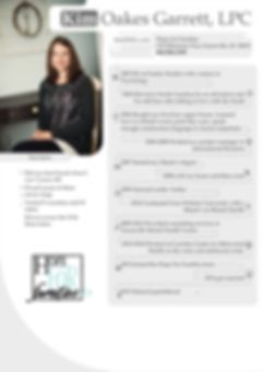 Relationship Counselor Kim Garrett