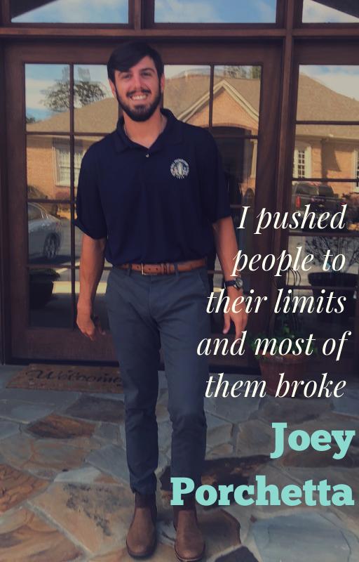 Addiction Peer Specialist Joey Porchetta