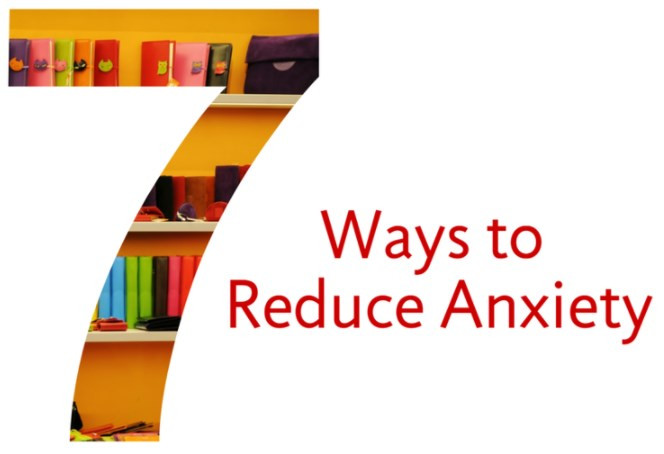 7 ways to control your anxiety