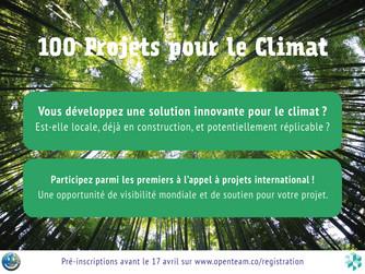 100 projets pour le climat, les projets en lien avec l'éconavigation