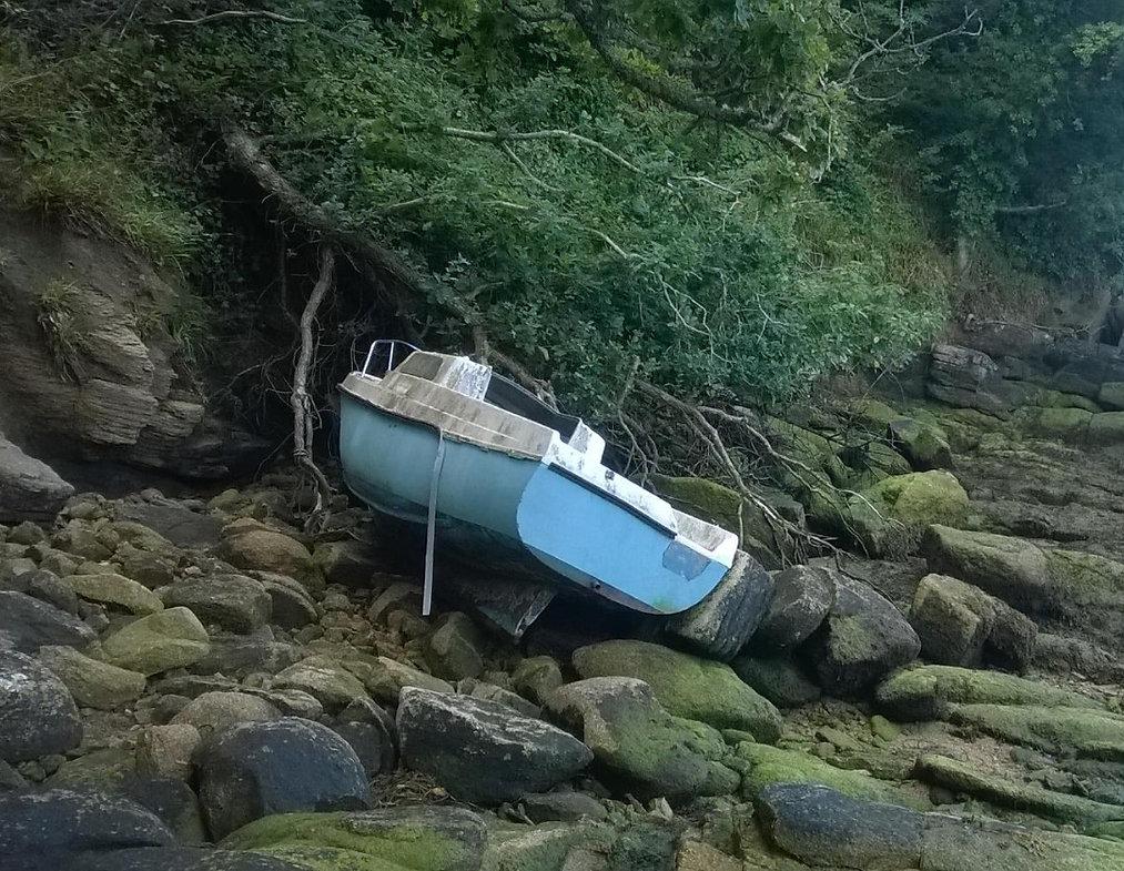 bateau en fin de vie BPHU déconstruction